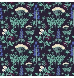 Seamless floral pat vector