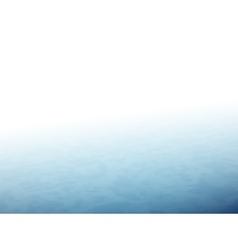 The horizon with fog blue sea or ocean vector