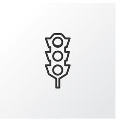 traffic lights icon symbol premium quality vector image