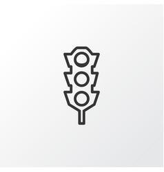 Traffic lights icon symbol premium quality vector