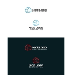 Cabin house logo vector