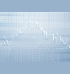 Banking business graph background vector