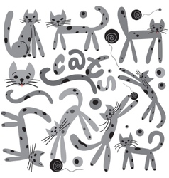 cats - cartoons vector image
