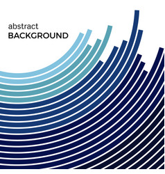 background with bright blue colorful lines vector image vector image