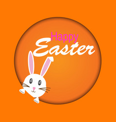 Easter rabbit easter bunny vector