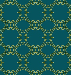 Lace seamless pattern Elegant vintage background vector image vector image