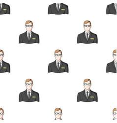 Male realtorrealtor single icon in cartoon style vector