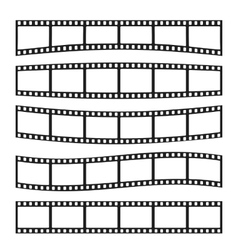 Template film roll vector