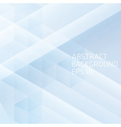 Abstract background with cube vector image