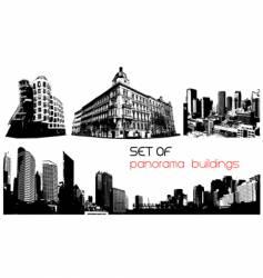 cityscape vector image