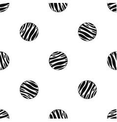 Big planet pattern seamless black vector