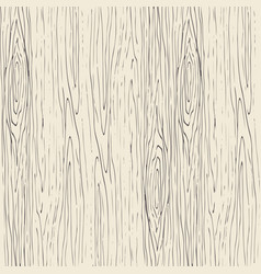 Seamless wood grain pattern wooden texture vector