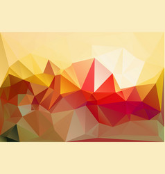 vibrant lowpoly texture vector image