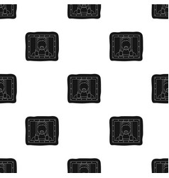Prisoner icon in black style isolated on white vector