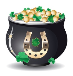 Pot of gold3 vector