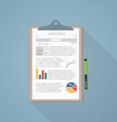 Report paper vector