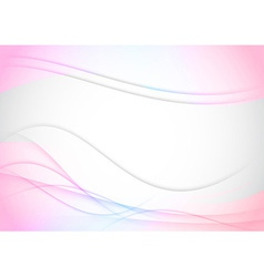 Abstract colorful transparent background with vector image vector image