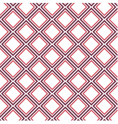 diamond shape pattern background vector image vector image