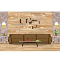 Modern Style Interior Design vector image vector image