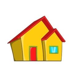 Real estate icon cartoon style vector