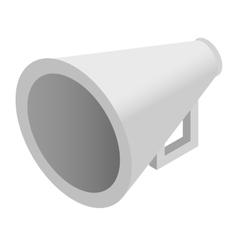 Megaphone isometric 3d icon vector