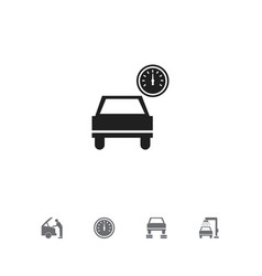 set of 5 editable vehicle icons includes symbols vector image vector image