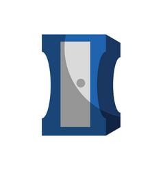 sharpener utensil icon vector image vector image
