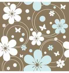 floral pattern vector image