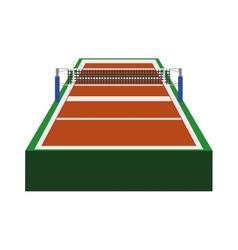 Volleyball league icon sport concept vector