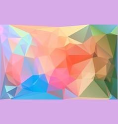 polygonal colorful horizontal template vector image