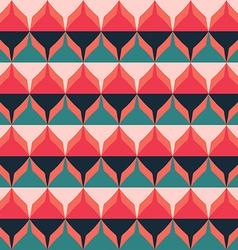 retro zigzag seamless pattern vector image
