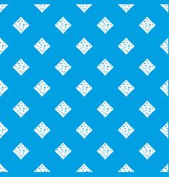 Tofu fresh block pattern seamless blue vector