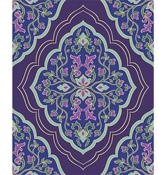 Violet ornamental carpet vector