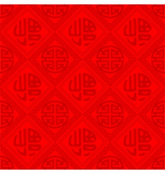 Oriental Chinese Seamless Pattern vector image