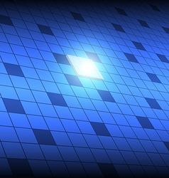 tech square button vector image