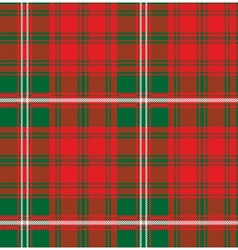 Seamless pattern scottish tartan royal stewart vector