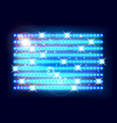 Abstract spotlight background vector