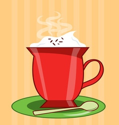 Hot chocolate vector