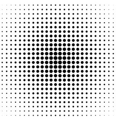 geometrical halftone circle pattern background - vector image