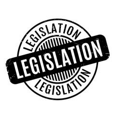 legislation rubber stamp vector image