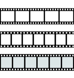 Template film roll vector image