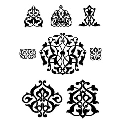 Arabesque collection for design vector