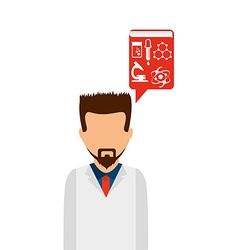 laboratory concept vector image