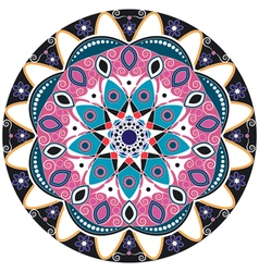 Mandala decoration isolated design element vector