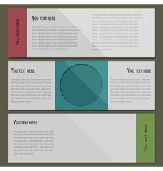 Business modern template vector image vector image