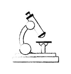 Microscope science icon image i vector