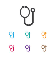 of clinic symbol on vector image vector image