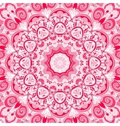 Pink abstract Seamless pattern vector image