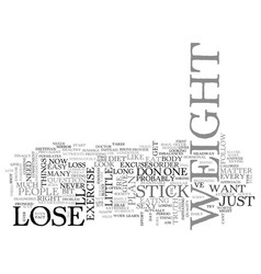Why cant i lose weight right now text word cloud vector