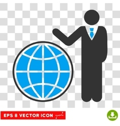 Planetary eps icon vector